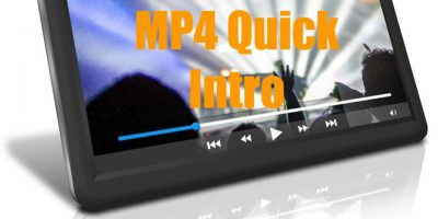 MP4 Quick Intro
