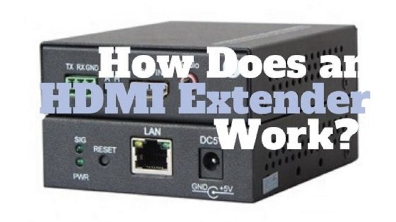 How Does an HDMI extender work