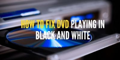 Fix dvd playing in black and white