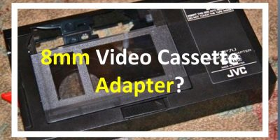 8mm cassette adapter