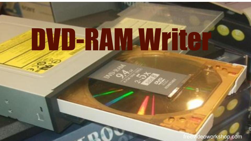 DVD-RAM Writer