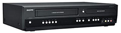 Sanyo DVD Recorder VCR Combo