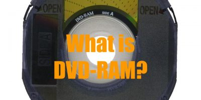 What is DVD-RAM?