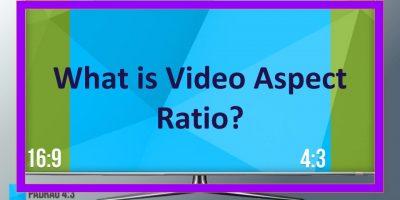 Video Aspect Ratio