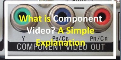 What is Component Video?