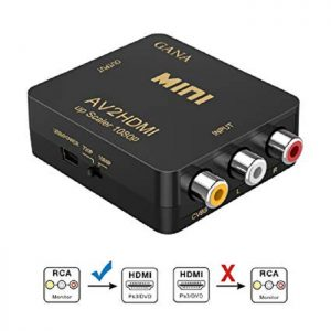 RCA to HDMI converter box