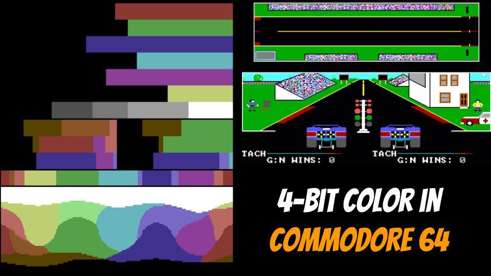 4-Bit Color depth in Commodre 64