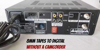 8mm Tapes to Digital Without a Camcorder