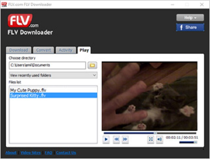 How to Open FLV files - FLV Player Free