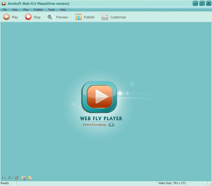 How to Open FLV Files - AnvSoft Web FLV Player