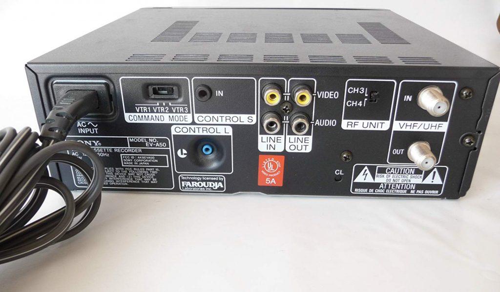 Sony EV-A50 Video8 Player