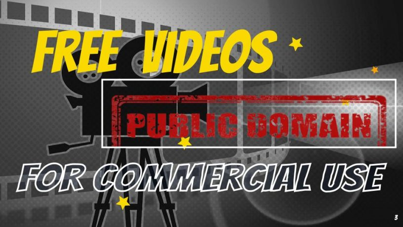 Grab These Copyright-Free Public Domain Videos for Commecial Use