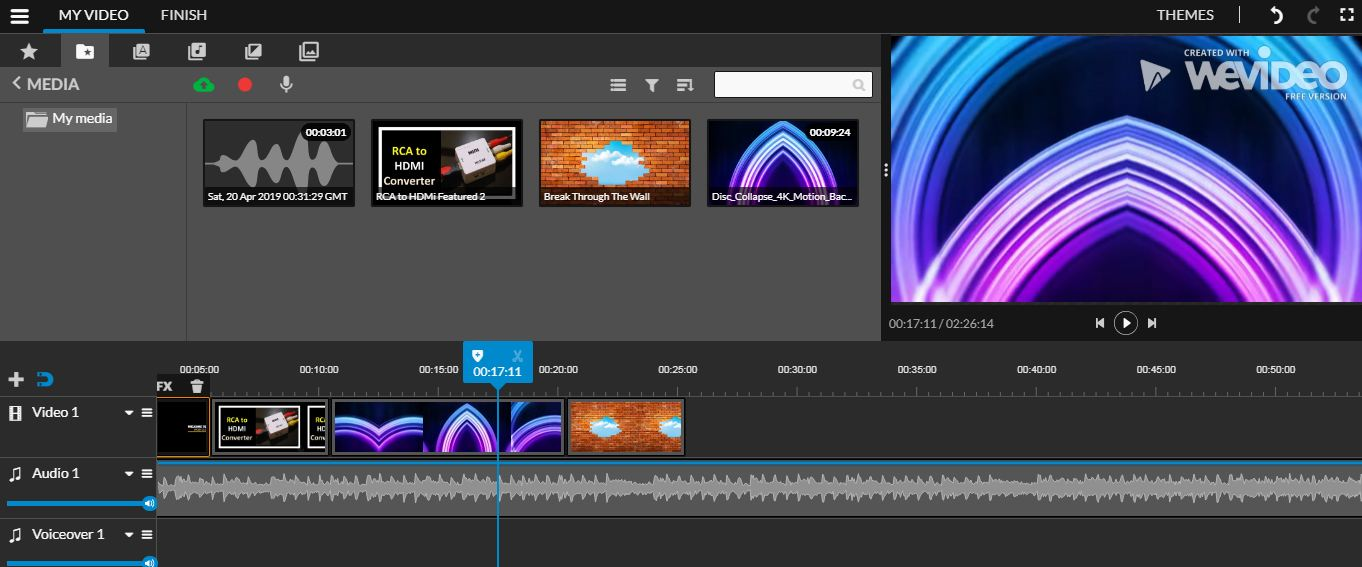 Wevideo Free Online Video Editor