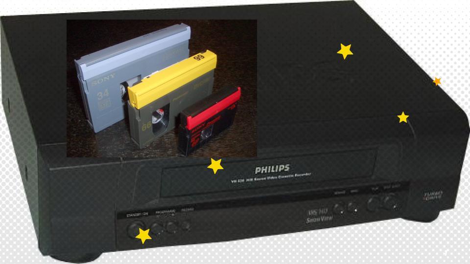 mini-DV to VHS adapter