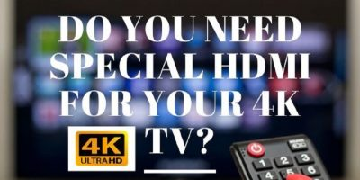 special hdmi for 4k tv