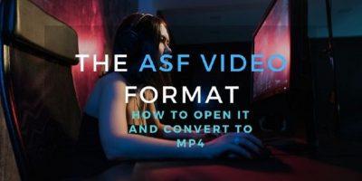 ASF Video Format