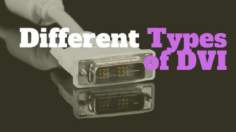 Different DVI types