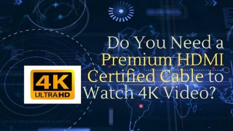 Premium HDMI Certified Cable