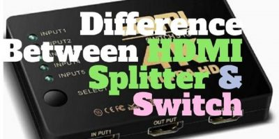 Difference between HDMI splitter and switch