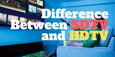 SDTV vs HDTV