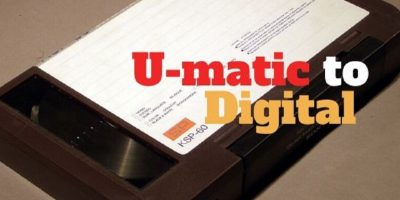 U-matic to Digital