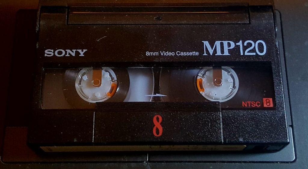 8mm tape Video8