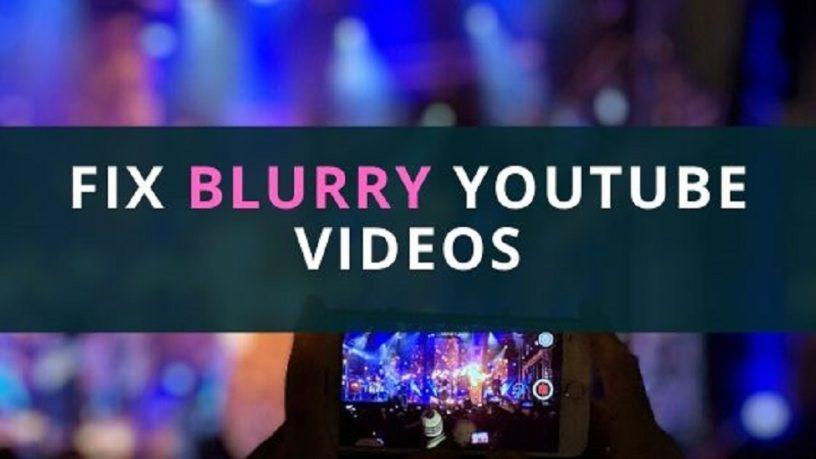 Fix Blurry YouTube Videos