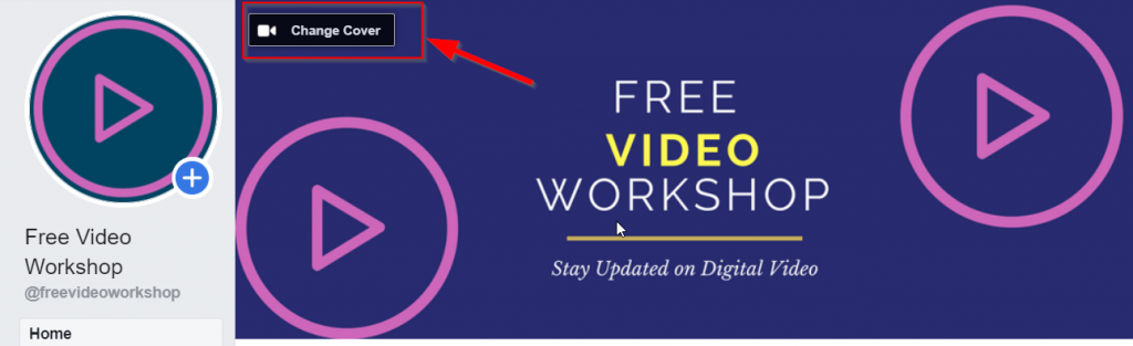 create facebook cover video for free