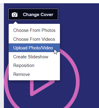 make a facebook cover video for free