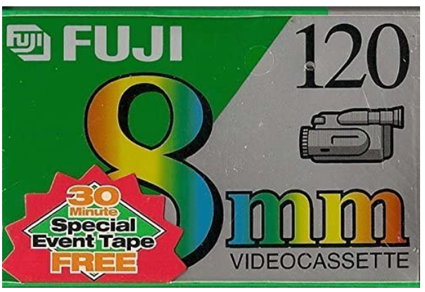FUJI MP P6-120 DS N 8mm Tape