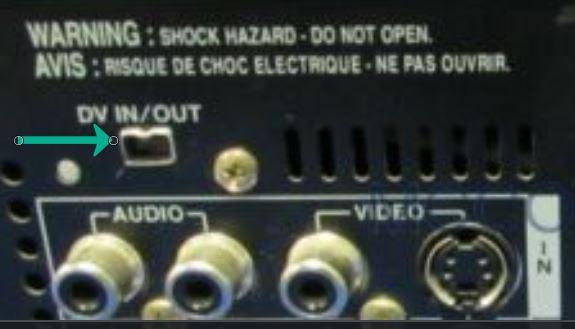 mini-DV player Firewire port