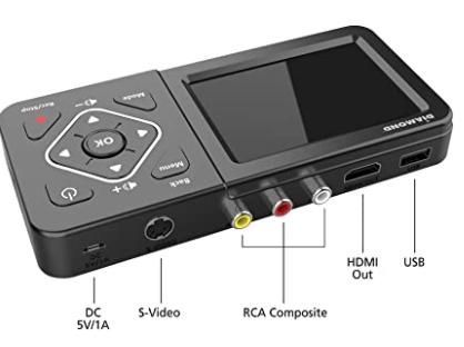 Standalone analog video to digital video converter