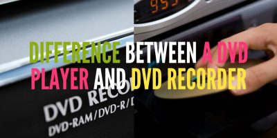 Difference Between a DVD player and a DVD recorder