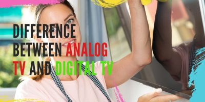 Difference between analog tv and digital tv