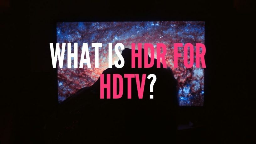 HDR for HDTV