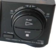 8mm tape player vcr jog shuttle