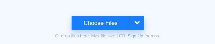 Freeconvert free online video converter 1GB file upload