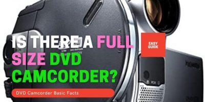 Full size DVD Camcorder
