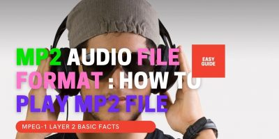 MP2 File Format - MPEG-1 Audio Layer 2