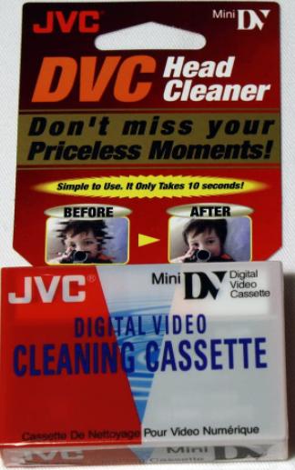 JVC Mini DV Head Cleaner