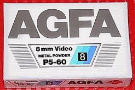 AGFA P5-60 8mm video Metal Powder tape