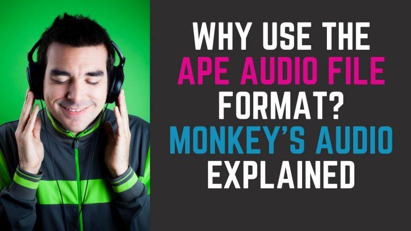 APE Audio File Format