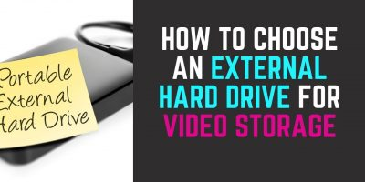 External Hard Drive for Video Storage