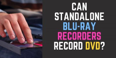 Standalone Blu-ray Recorder Record DVD