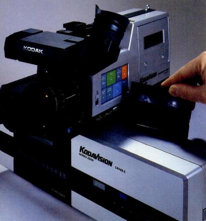 Kodavision 2000 - first 8mm camcorder