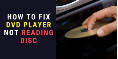 DVD player not reading disc