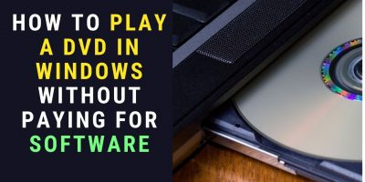 Play DVD in Windows 10