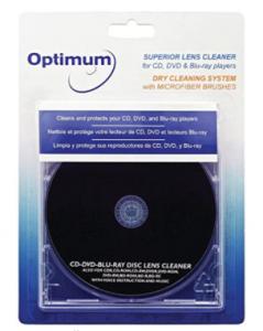 DVD laser lens cleaning kit