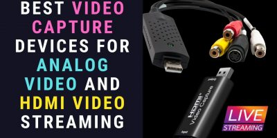 Analog and HDMI video capture devices