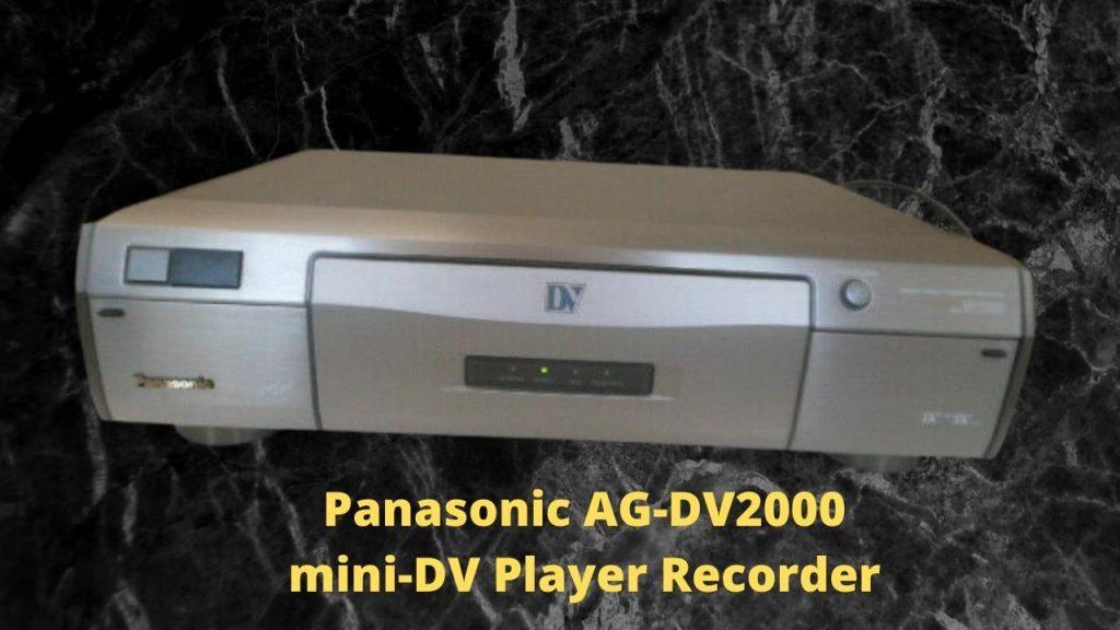Panasonic AG-DV2000 mini-DV Player Recorder